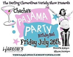The Darling Clementines' Pajama Party