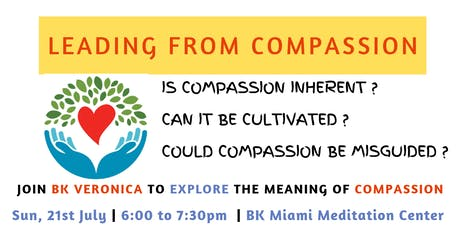 Leading From Compassion : Special Sunday Evening Conversation tickets