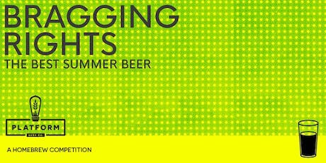 Fourth Annual Bragging Rights Homebrew Competition tickets