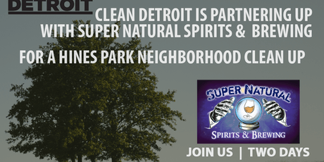 SuperNatural Hines Park Cleanup tickets
