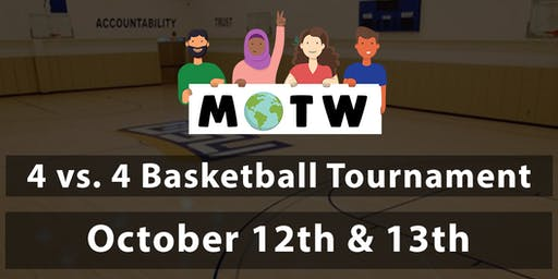 Muslims of the World  |  4 vs 4 Basketball Tournament