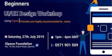 UI/UX Design Work shop for Beginners tickets