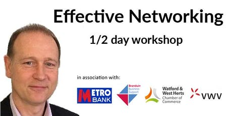 Effective Networking: 1/2-day training workshop tickets