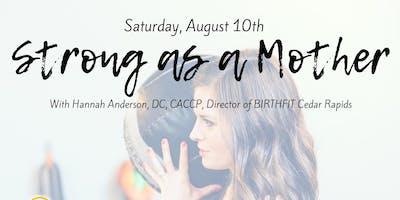 Birthfit Postpartum Workshop with Dr. Hannah Anderson