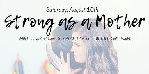 Birthfit Postpartum Workshop with Dr. Hannah Anderson