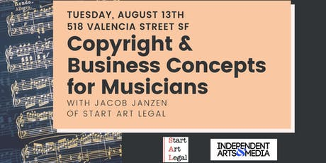 Copyright & Business Concepts for Musicians tickets