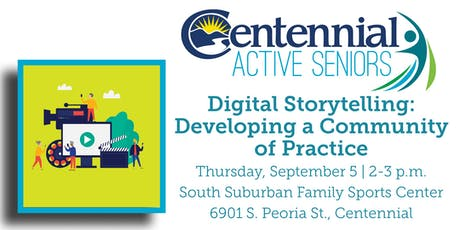 Digital Storytelling: Developing a Community of Practice tickets
