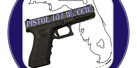 Pistol 101 w/Concealed Carry License tickets