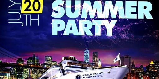 SUMMER ON A YACHT (The World Yacht)(LIMITED FREE TIX)
