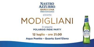 Modigliani by Nastro Azzurro Sardegna @Aqua Club & Restaurant - Quartu Sant'Elena