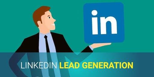 LinkedIn Lead Generation Workshop - Tuesday 29th October 2019