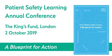 Patient Safety Learning Conference 2019 tickets