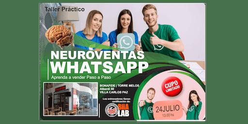 NEUROVENTAS aplicadas a Whatsapp - Aprende a vender Paso a Paso - VILLA CARLOS PAZ !!!
