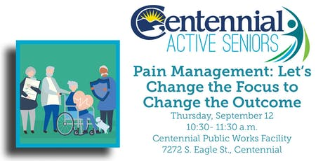 Pain Management: Let's Change the Focus to Change the Outcome tickets