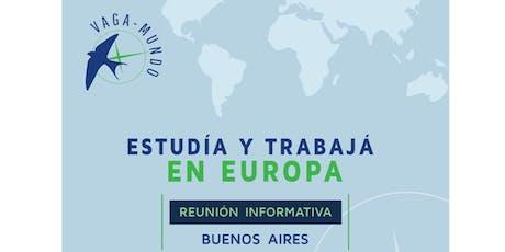 Vaga-Mundo Reunión Informativa en Buenos Aires tickets
