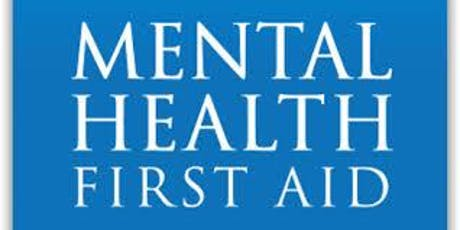 Mental Health First Aid Training- Youth tickets