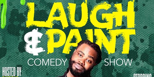 Laugh and Paint Comedy Show- Raleigh NC