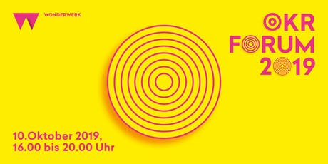 OKR Forum 2019 tickets