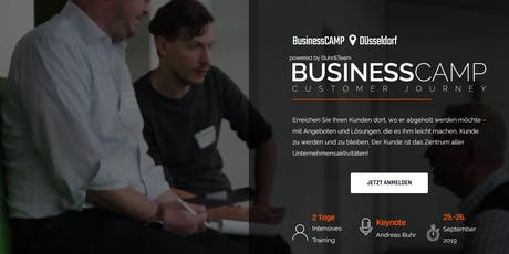 BusinessCamp Customer Journey Tickets