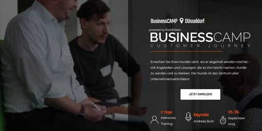 BusinessCamp Customer Journey