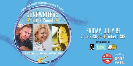 Songwriters In the Round - Jupiter Hall Live! Performance Series tickets