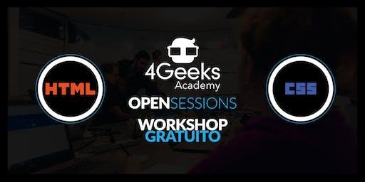 4Geeks Open Session: Principios básicos en HTML y CSS