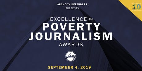 2019 Excellence in Poverty Journalism Awards tickets