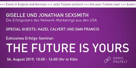 Exklusives Erfolgs-Seminar mit Giselle und Jonathan Sexsmith in Köln tickets