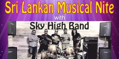 Sri Lankan Musical Nite tickets