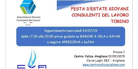 Festa d'Estate Giovani CDL Torino biglietti