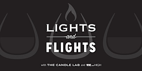 Lights & Flights with The Candle Lab and Wine on High tickets