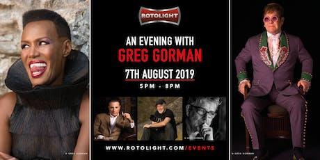 An evening with Greg Gorman tickets