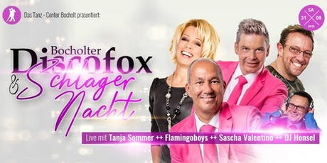 Schlager & Discofox Night in Bocholt Tickets