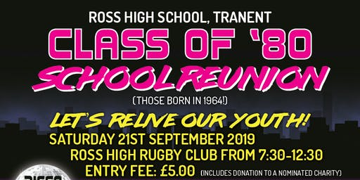 Ross High Reunion Class of 1980