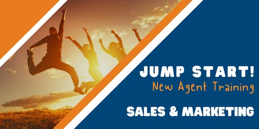Jump Start: New Agent Training (Sales & Marketing) - Austin - 10/21/2019