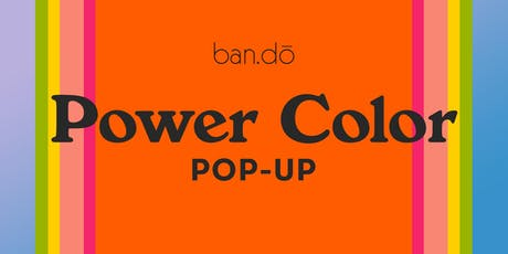 Power Color Pop-up tickets