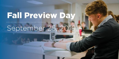 Fall Preview Day 2019 tickets
