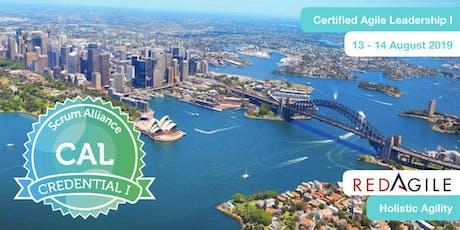 AGILE | Certified Agile Leadership Training Course(CAL I)-SYDNEY, 13-14 Aug tickets