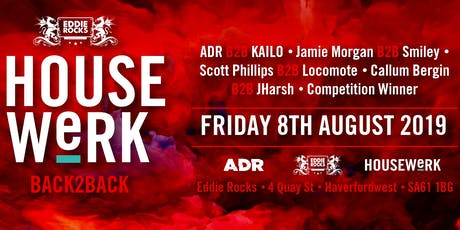 HOUSEWeRK // BACK2BACK tickets