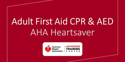 Adult First Aid CPR & AED