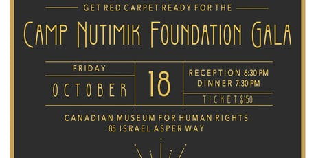 2019 Camp Nutimik Foundation Gala tickets