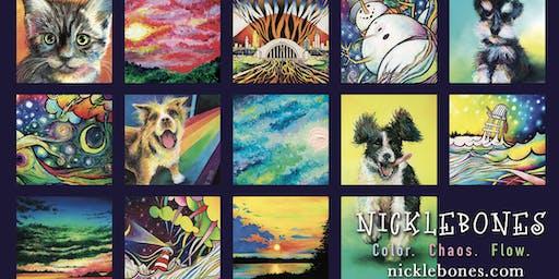 Artist Reception for Nick Carlisle