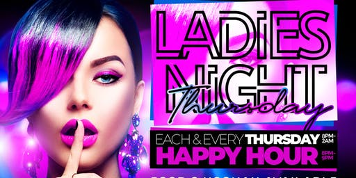 Ladies Night Thursday's