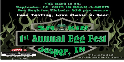 Smokin Jasper, IN 1st Annual Big Green EGG Fest