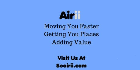 FREE ride with Airii tickets