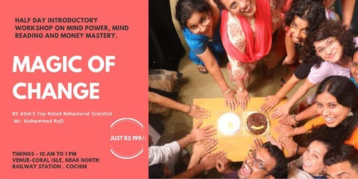 Magic of Change Half Day Introductory Workshop