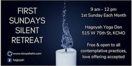 First Sundays Silent Retreat - August 2019 tickets