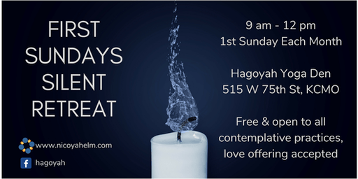 First Sundays Silent Retreat - August 2019