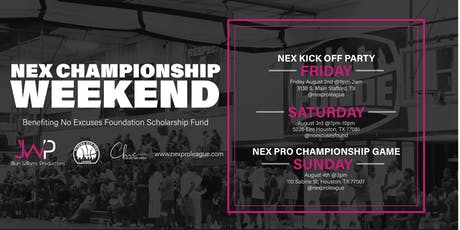 NEX Championship Weekend tickets