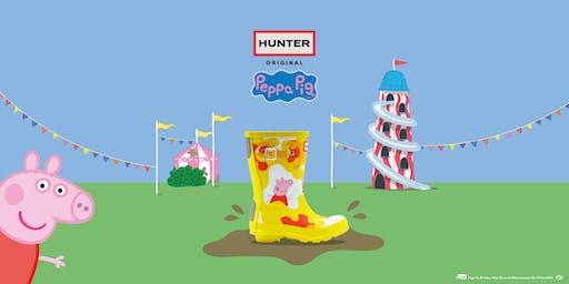 Peppa Pig at Hunter Regent Street